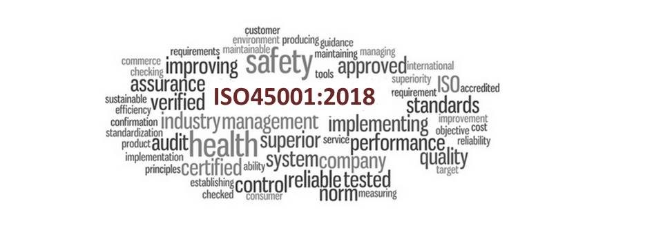 ISO 45001 Occupational health and safety